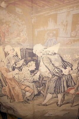 """Antique French Tapestry 37""""x 53"""""""