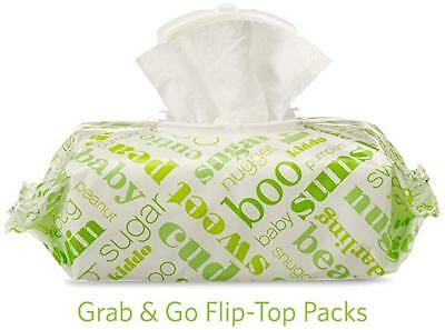 Elements Baby Wipes, Fresh Scent, Sensitive, Unscented, 720 Count Flip-Top Pack