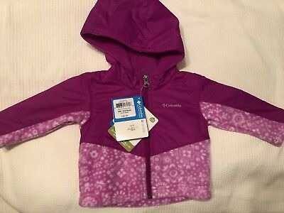 acb4a6036 NWT COLUMBIA INFANT Girls Winter Bunting Pink and White Plaid - Size ...