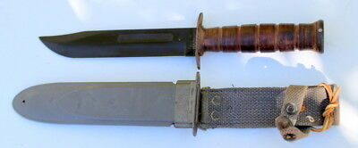 NOS WWII US Navy Mk2 Fighting Knife USN Mark 2 Camillus Blade MINT never Used
