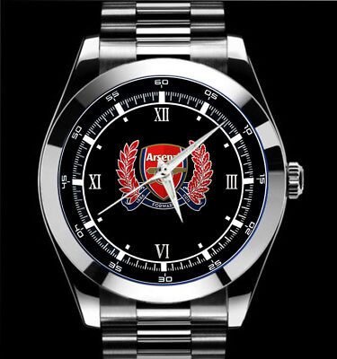 7 Sport Watch Arsenal Club English Football Club  Logo Design Sport Metal Watch