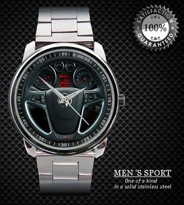 2013 Vauxhall Astra VXR Steering Wheel Sport Metal Watc Design Sport Metal Watch