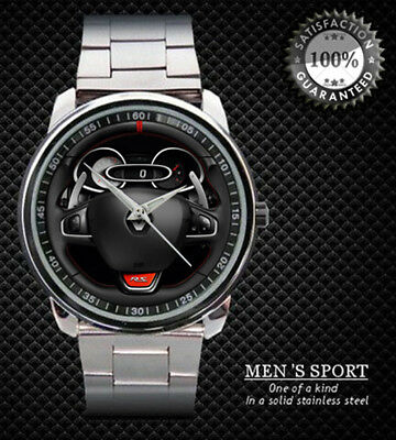 291Renault Clio RS 200 Steering Wheel Sport Metal Watch Design Sport Metal Watch