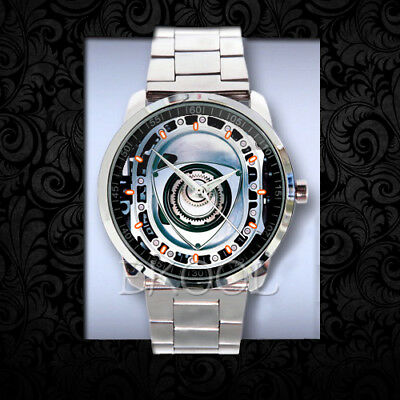 27 Mazda RX-8 Rotary Engine Crest Part R3 Design Sport Metal Watch