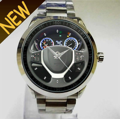 2013 Suzuki SX4 S-Cross Comfort Steering Wheel Acces Design Sport Metal Watch