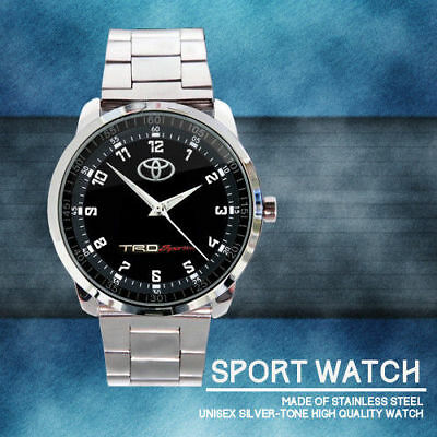 Toyota TRD Sportivo Men's Logo Design Sport Metal Watch Design Sport Metal Watch