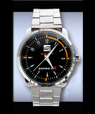 1158  Seat Leon Cupra Logo Design Sport Metal Watch