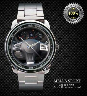 2014 Subaru Forester Steering Wheel Sport Metal Watch Design Sport Metal Watch