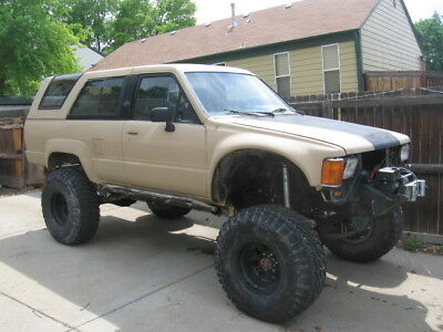 1988 Toyota 4Runner  Toyota 4Runner solid axle swap, 7mge engine swap, locker, winch - SAS crawler