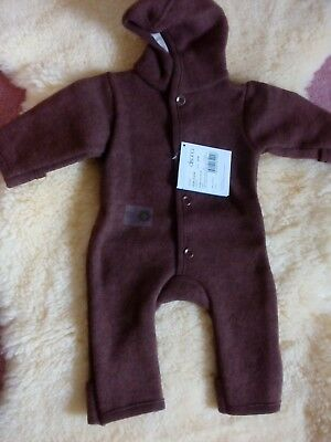 Disana organic boiled Merino wool overall 3-6 months new with tags