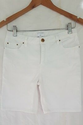 WITCHERY GIRL Sz 12 Shorts white denim in excellent condition