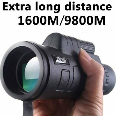 Super High Power 40X60 Portable HD Vision Monocular Telescope Binoculars