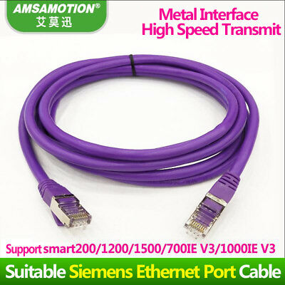 Siemens SMART200 700 1000IEV3/S7-1200 1500 Series Ethernet Port Equipment Cable