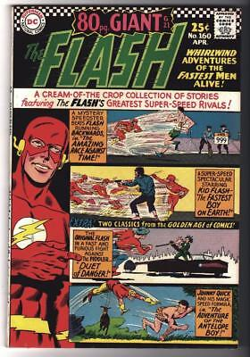 DC Comics VFN+ 8.5 FLASH 160 JLA 1966 Race against time 80 page HIGH GRADE