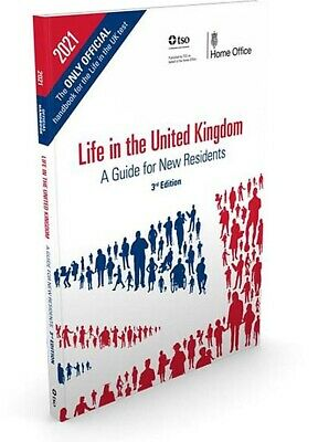 Life in the UK test united kingdom official 3rd edition for 2020 book-Life