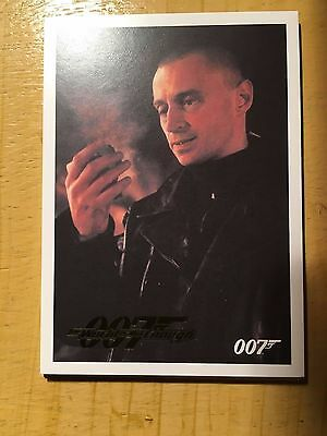 James Bond Classics 2016 The World is Not Enough Parallel Gold Card 28 113/125