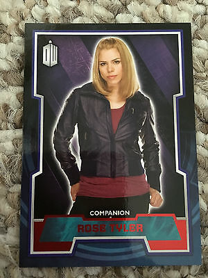 Topps Doctor Who 2015 Red Parallel 42 Base Card Rose Tyler 46/50