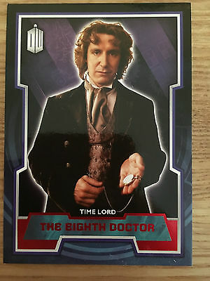Topps Doctor Who 2015 Red Parallel 8 Base Card The Eighth Doctor 34/50