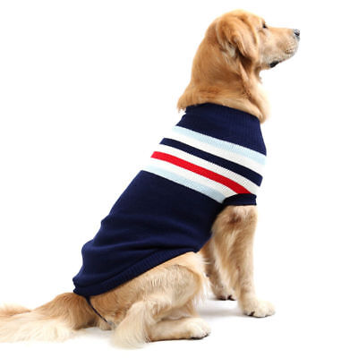 Cute Knitted Dog Jumper Pet Clothes Sweater Dogs Cats ( Size M~4XL, 6XL~7XL )