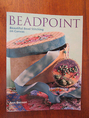 Beadpoint By Ann Benson Bead Stitching Patterns On Canvas + Tiger Pattern Copy