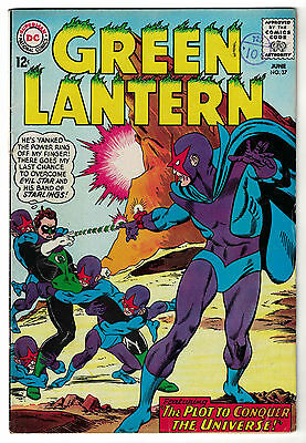 DC Comics GREEN LANTERN Issue 37 The Plot To Conquer The Universe! FN