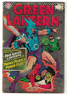 DC Comics GREEN LANTERN Issue 45 Prince Peril's Power Play! VG-