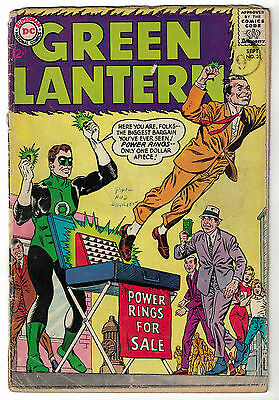 DC Comics GREEN LANTERN Issue 31 Power Rings For Sale! GD