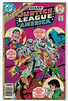 DC Comics JUSTICE LEAGUE OF AMERICA The World's Greatest Superheroes No 142 VF