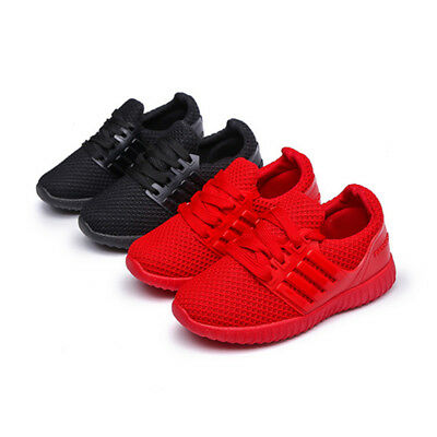 Casual Baby Kids Girls Boys Toddler Child Infant Sports Trainers Sneaker Shoes