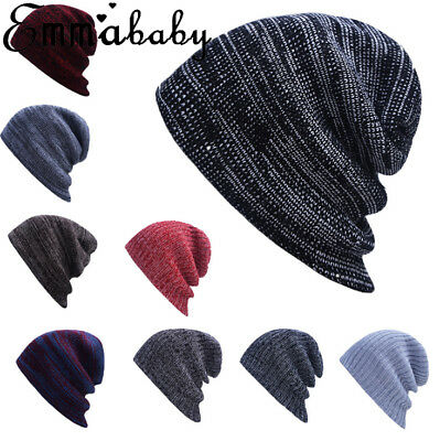 2019 Women Men Hat Unisex Warm Winter Knit Fashion Cap Hip-hop Beanie Hats HOT