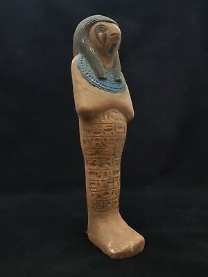 RARE Ancient ANTIQUE Egyptian STONE Large Over 30cm STATUE Of HORUS 1000-1500 BC