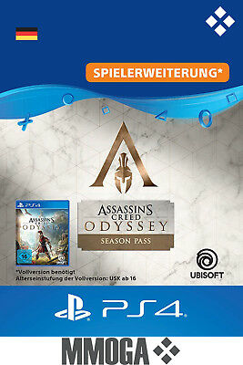 Assassin's Creed Odyssey Season Pas DLC PS4 Download Code - deutsches Konto - DE