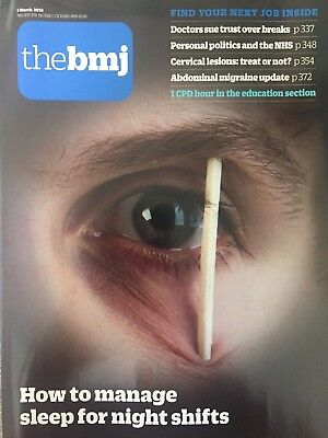 British Medical Journal BMJ 3 March 2018 (No. 8143) 360:337-378