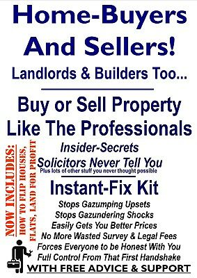 Buy, Sell or Flip Building Land, Plots. Full Control With No Solicitor Fees
