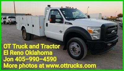 2012 Ford F-450 F450 Mechanic Service Utility Bed 6.7L Diesel