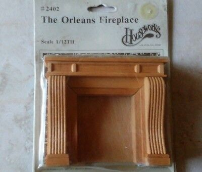 The Orleans Fireplace 1/12th Scale