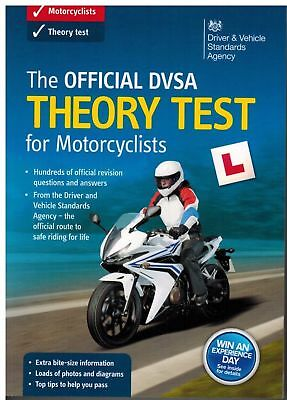 The Official DSA Theory Test for Motorcycle 2019 Book Motorbike DVLA DVSA - MTrB