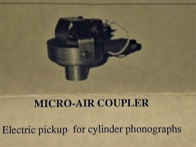 Electric Pickup For Cylinder Phonographs