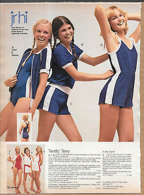Small Lot of Vintage Catalog Sporty Shorts Fashion Photo Clippings