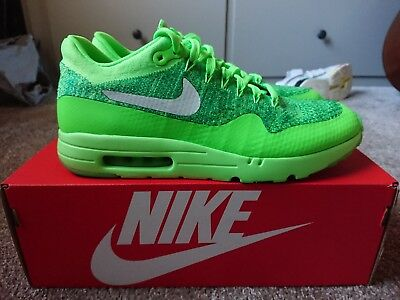 separation shoes e873f 0d810 Nike Air Max 1 Ultra Flyknit UK 8, Volt Green as worn by Adam Maxted