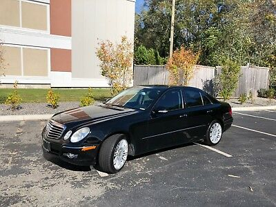 2008 Mercedes-Benz E-Class  2008 Mercedes-Benz E350 4MATIC