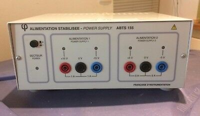 ABTS 155 Stabilized Power Supply - Alimentation Alim Stabilisée