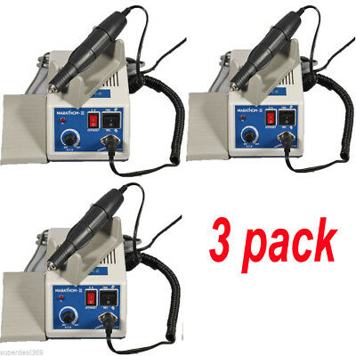 3 Packs Dental lab Marathon Micromotor Polishing + 35K RPM Handpiece B