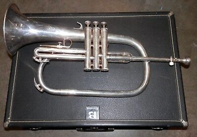 Blessing XL USA Silver Flugelhorn !12 Pictures Look! !NORESERVE!