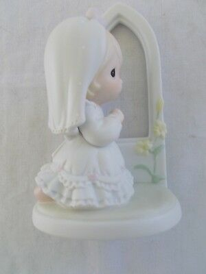 "Precious Moments ""May Your Future Be Blessed"" 1992 Figurine 525316 Bride"