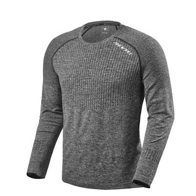 Maglia Sottogiacca Intimo Termico Rev'it Airborne Ls  Shirt  Tg L Grey