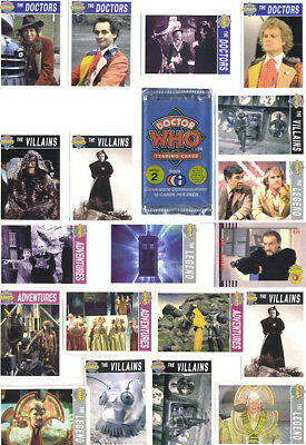 DOCTOR WHO Series 2 trading card set of 20
