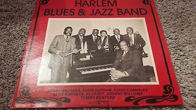 Lp Harlem Blues and  Jazz  Band
