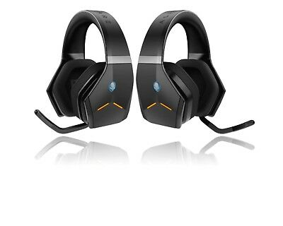 Alienware AW988 Wireless Wired Stereo Gaming Headset Black