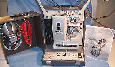 KODAK PAGEANT AV-126TR 16mm Sound Commercial Motion Picture Movie Film Projector